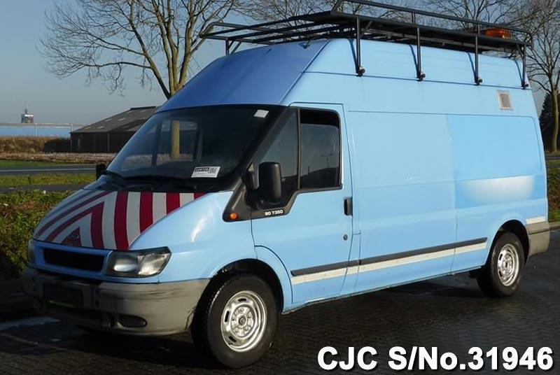 2002 left hand ford transit 350 l blue for sale stock no 31946 left hand used cars exporter. Black Bedroom Furniture Sets. Home Design Ideas