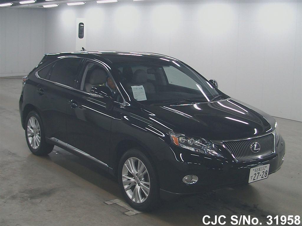 2009 lexus rx 450h black for sale stock no 31958 japanese used cars exporter. Black Bedroom Furniture Sets. Home Design Ideas