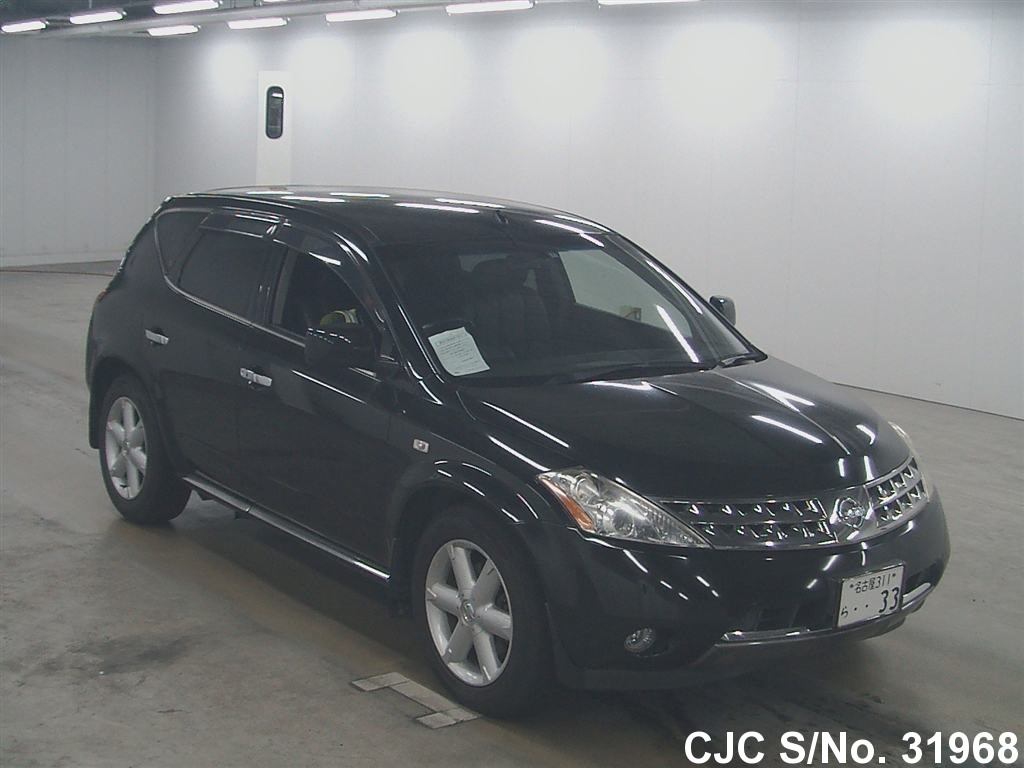 2005 nissan murano for sale stock no 31968 japanese. Black Bedroom Furniture Sets. Home Design Ideas