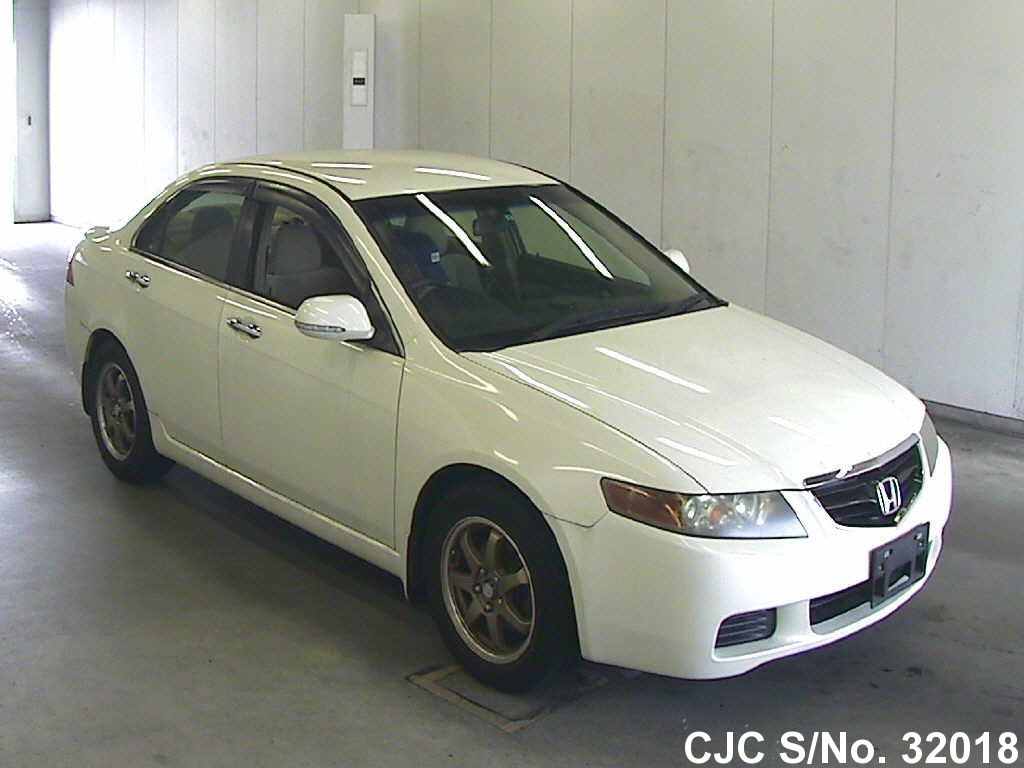 2003 Honda Accord White For Sale Stock No 32018 Japanese Used
