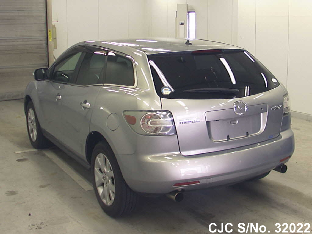 2006 mazda cx7 silver for sale stock no 32022 japanese used cars exporter. Black Bedroom Furniture Sets. Home Design Ideas