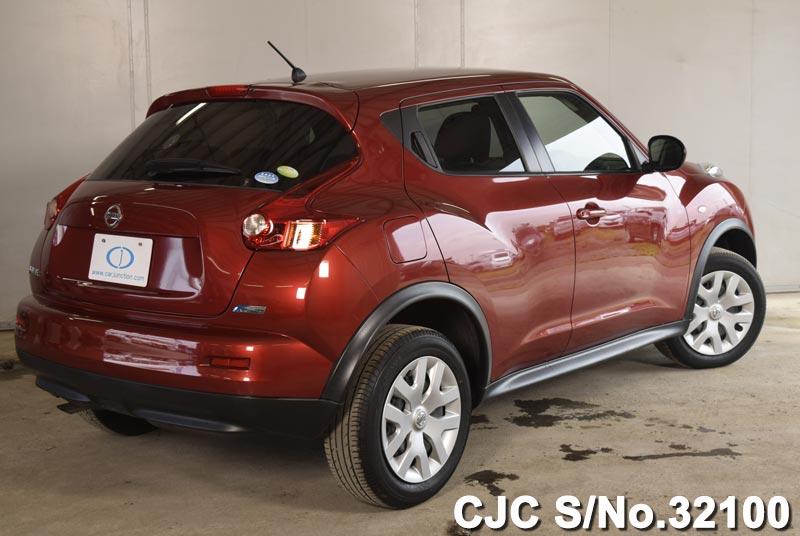 2012 nissan juke red for sale stock no 32100 japanese used cars exporter. Black Bedroom Furniture Sets. Home Design Ideas