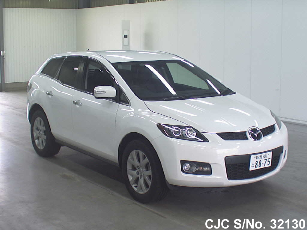 2006 mazda cx7 pearl for sale stock no 32130 japanese used cars exporter. Black Bedroom Furniture Sets. Home Design Ideas