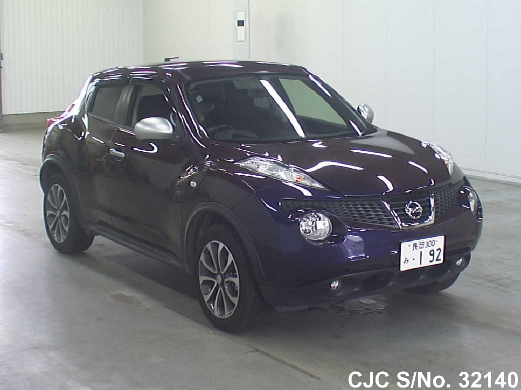 2014 nissan juke purple for sale stock no 32140 japanese used cars exporter. Black Bedroom Furniture Sets. Home Design Ideas