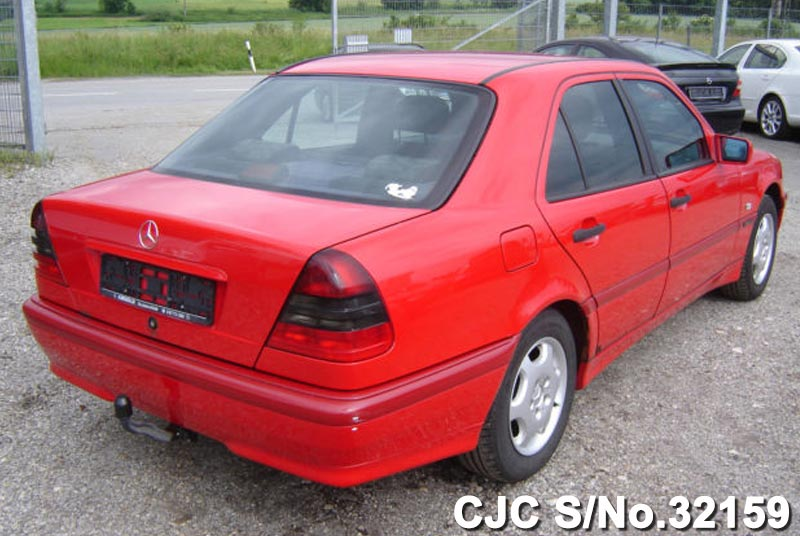 2000 left hand mercedes benz c class red for sale stock for Mercedes benz c class 2000