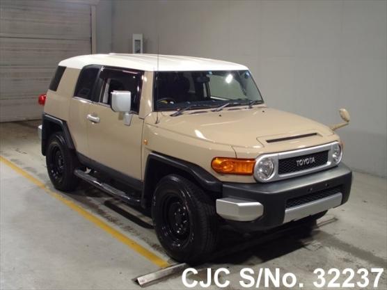 2012 toyota fj cruiser beige for sale stock no 32237 japanese used cars exporter. Black Bedroom Furniture Sets. Home Design Ideas