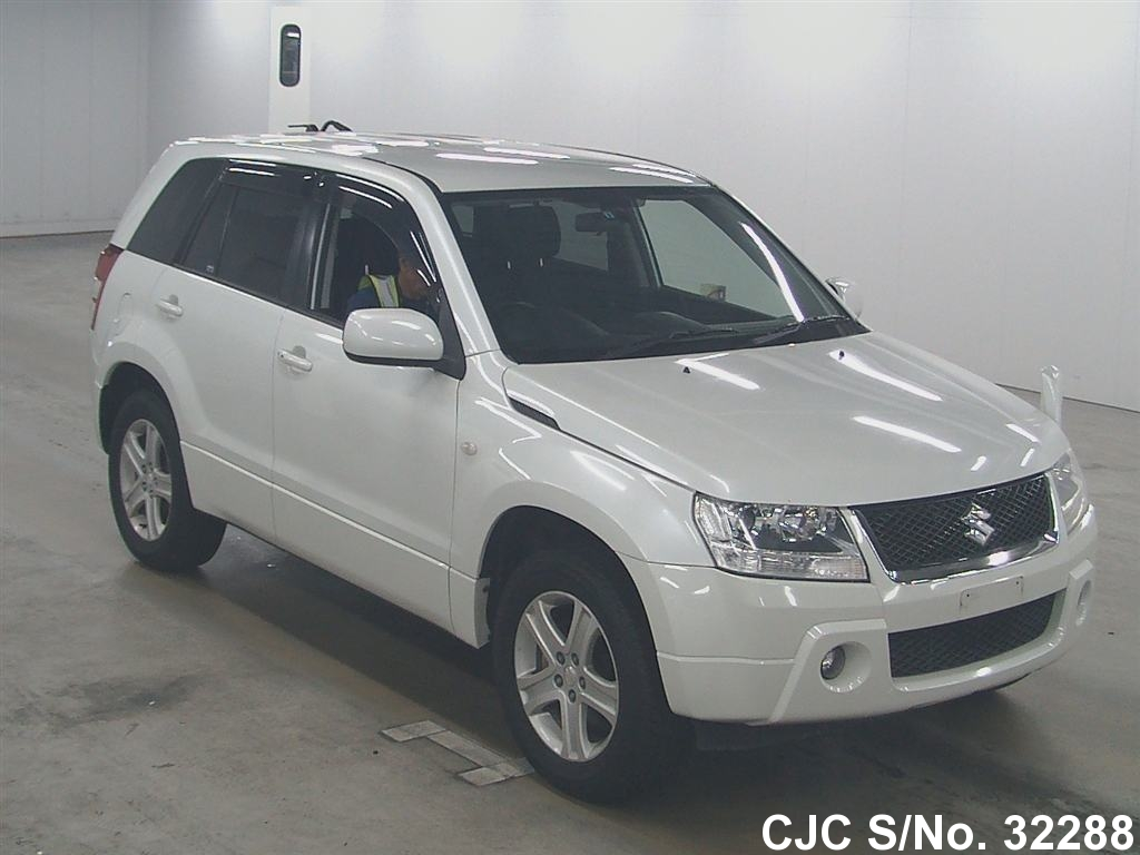 2006 suzuki escudo grand vitara white for sale stock no 32288 japanese used cars exporter. Black Bedroom Furniture Sets. Home Design Ideas