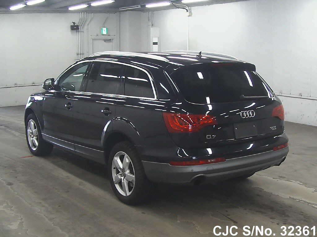 2010 audi q7 black for sale stock no 32361 japanese used cars exporter. Black Bedroom Furniture Sets. Home Design Ideas