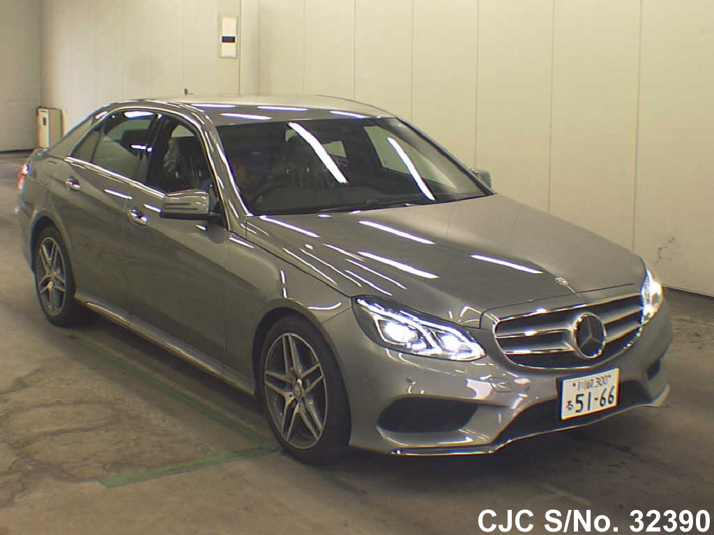 2014 mercedes benz e class gray for sale stock no 32390 japanese used cars exporter. Black Bedroom Furniture Sets. Home Design Ideas