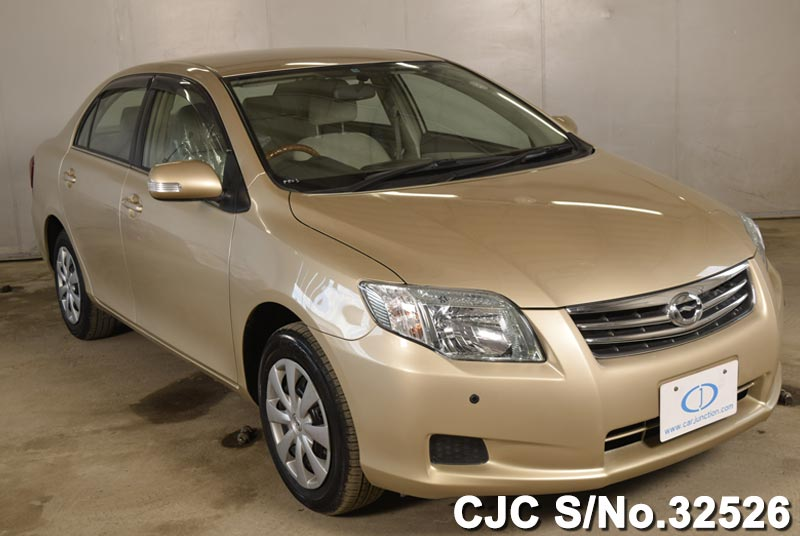 2011 toyota corolla axio gold for sale stock no 32526 japanese used cars exporter. Black Bedroom Furniture Sets. Home Design Ideas