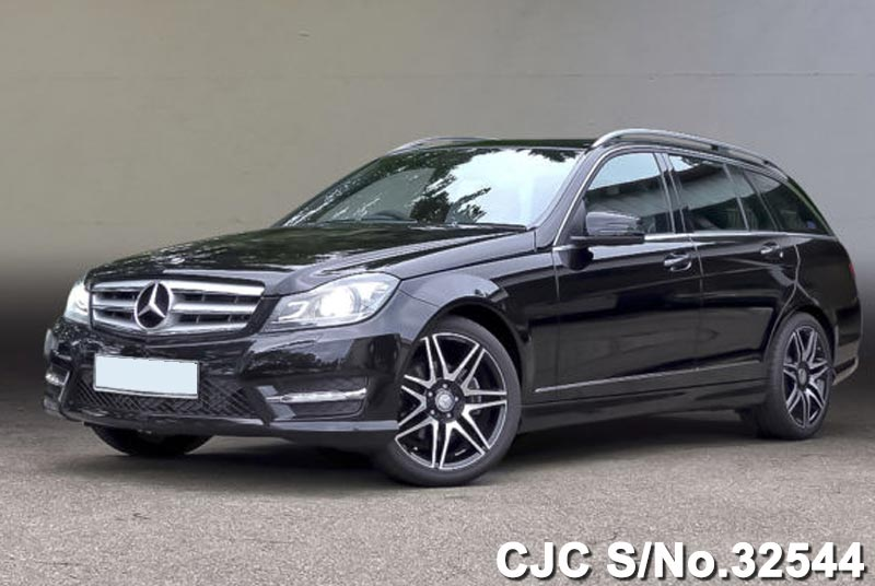 Black Mercedes Benz C180 for Pakistan