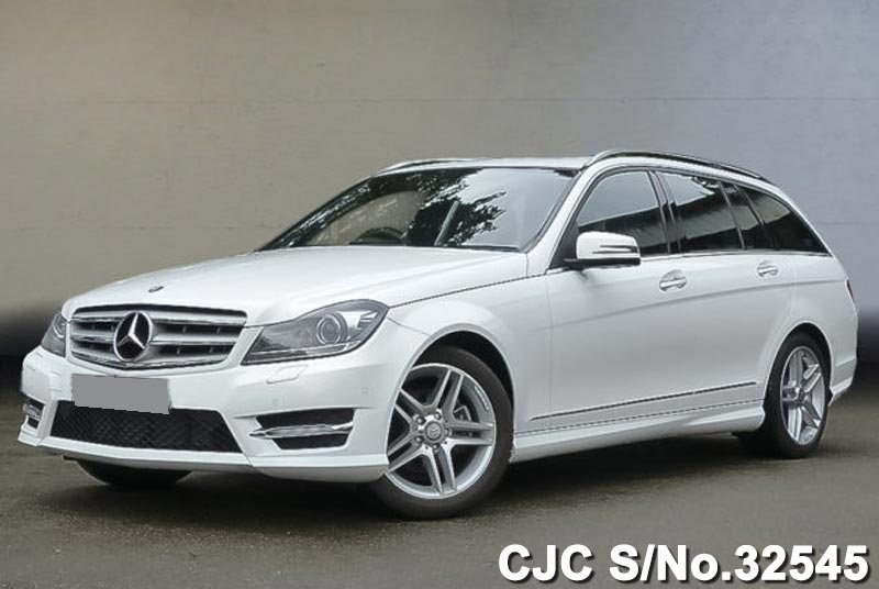 Polar White Mercedes Benz C 200