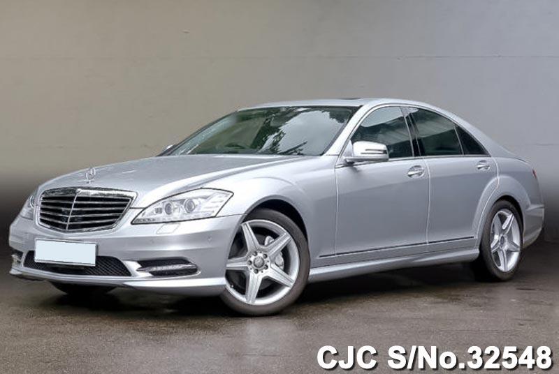 Silver Metallic Mercedes Benz S Class