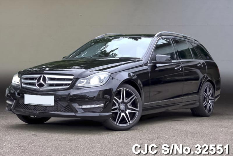 Black Mercedes Benz C Class for Diplomats