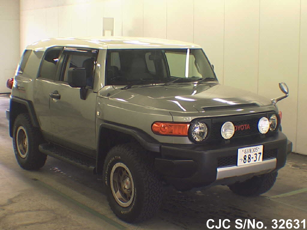 2011 toyota fj cruiser green for sale stock no 32631. Black Bedroom Furniture Sets. Home Design Ideas