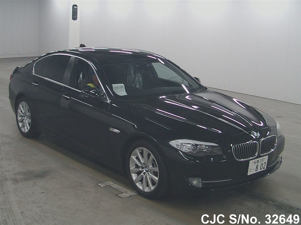 2010 bmw 5 series black for sale stock no 32649. Black Bedroom Furniture Sets. Home Design Ideas