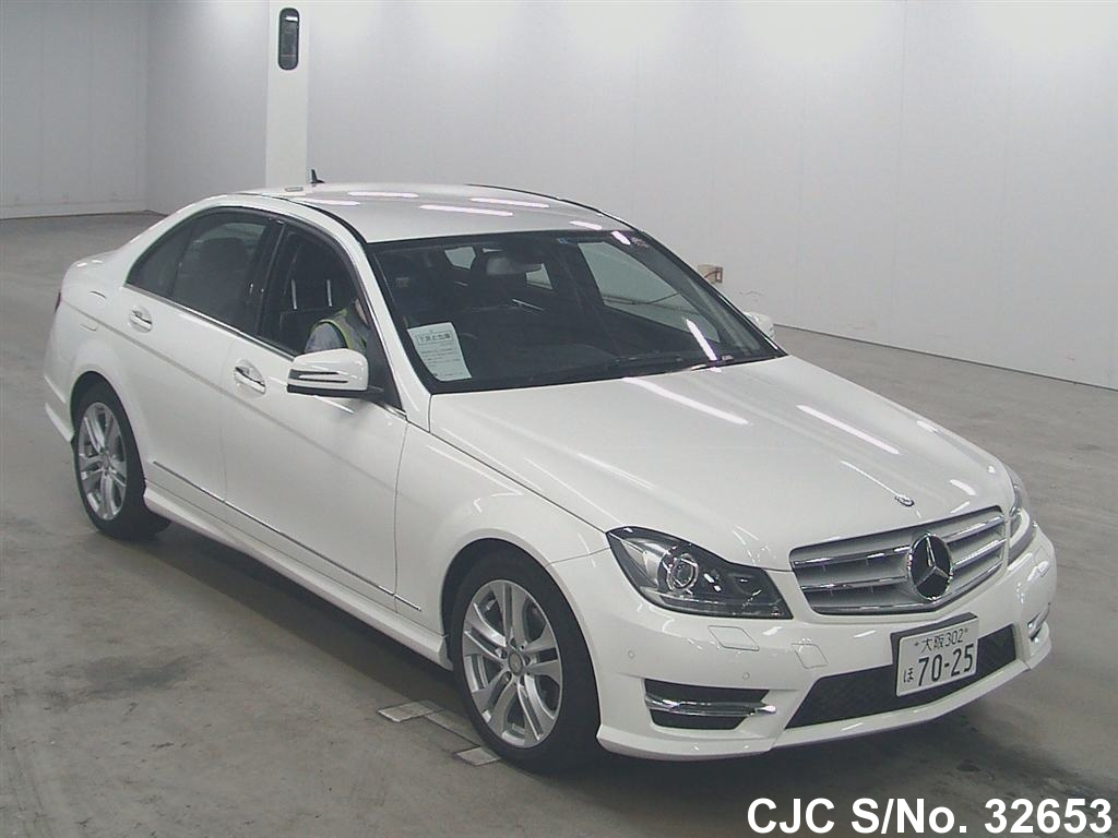 2013 mercedes benz c class white for sale stock no for Mercedes benz c class white