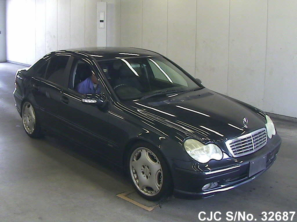 2001 mercedes benz c class black for sale stock no for Mercedes benz s class 2001