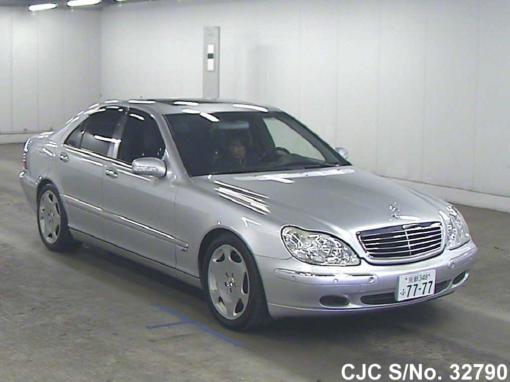 1999 left hand mercedes benz s class silver for sale for 1999 mercedes benz s500 for sale