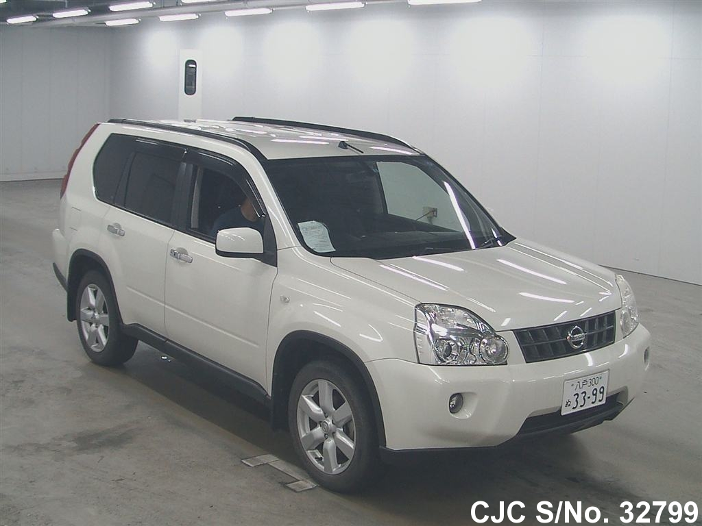 2008 Nissan X Trail White For Sale Stock No 32799