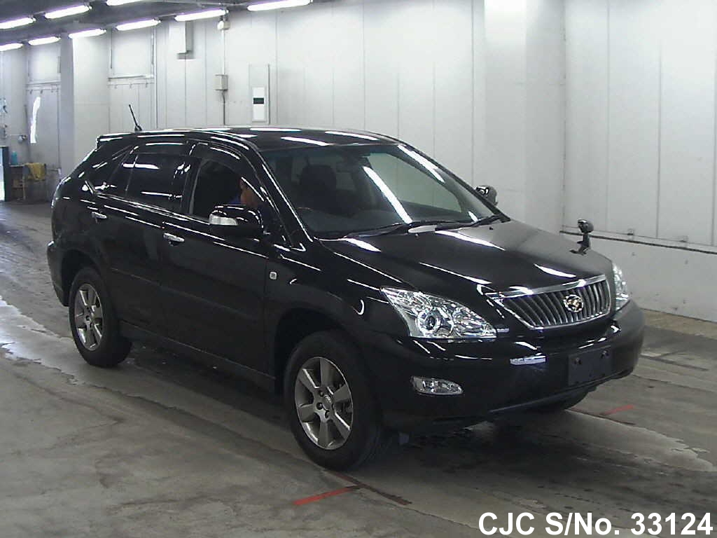 2012 Toyota Harrier Black For Sale Stock No 33124