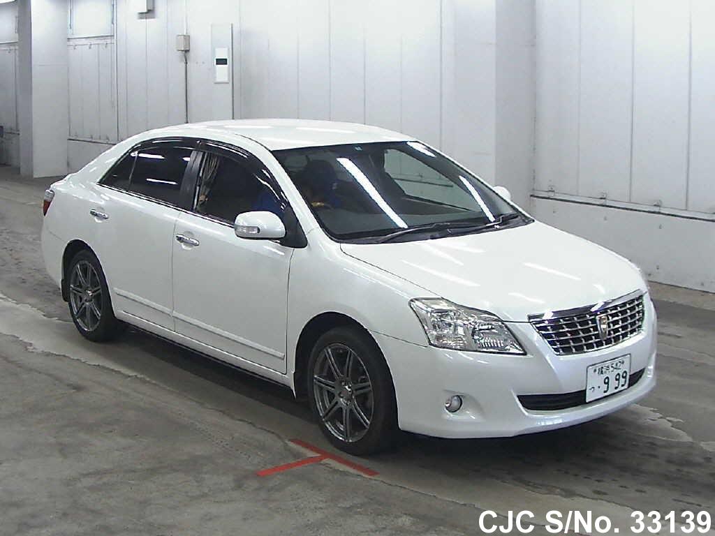 2009 Toyota Premio Pearl For Sale Stock No 33139