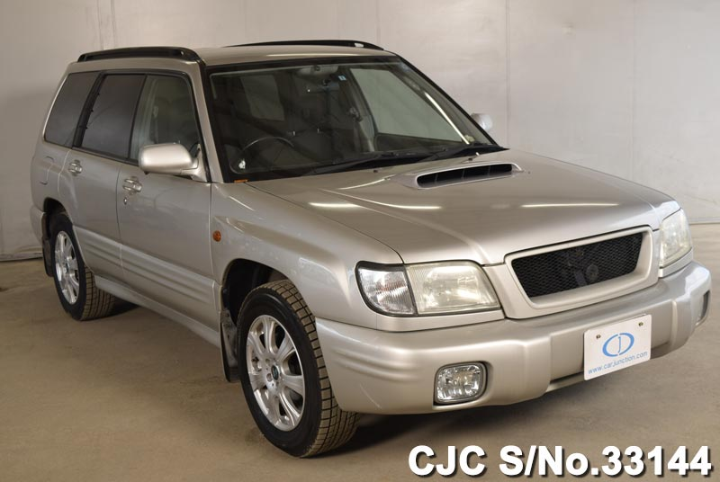 2000 subaru forester silver for sale stock no 33144 japanese used cars exporter. Black Bedroom Furniture Sets. Home Design Ideas