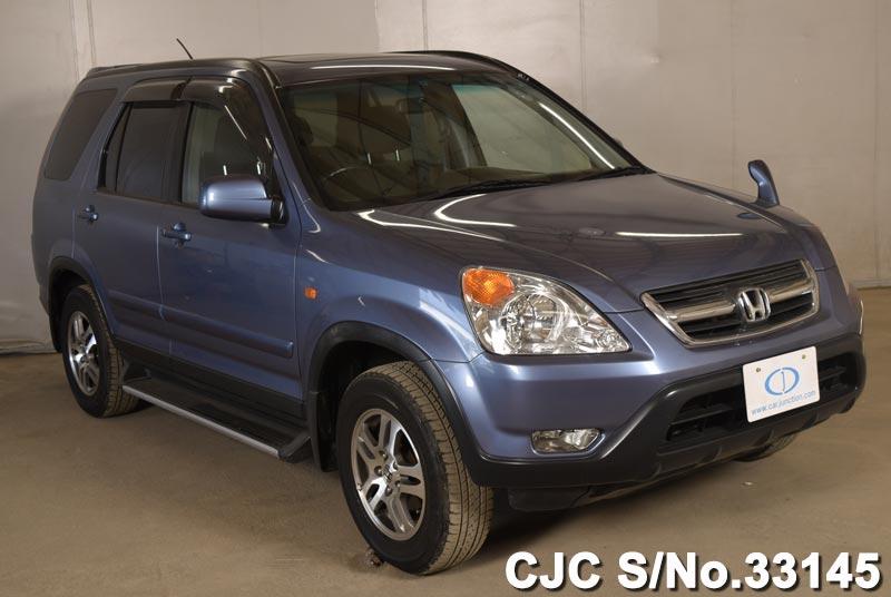 2002 honda crv blue for sale stock no 33145 japanese used cars exporter. Black Bedroom Furniture Sets. Home Design Ideas