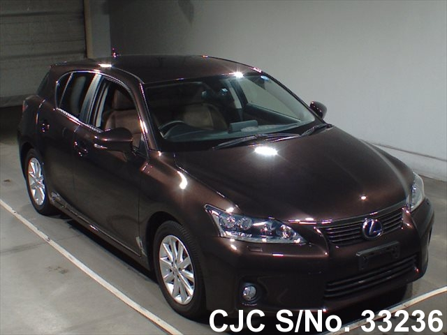 2012 lexus ct200h brown for sale stock no 33236 japanese used cars exporter. Black Bedroom Furniture Sets. Home Design Ideas