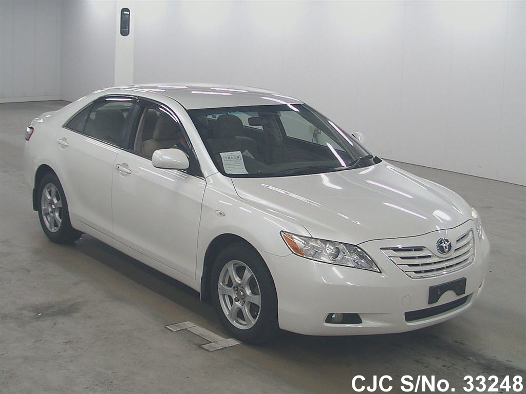 2006 toyota camry pearl for sale stock no 33248 japanese used cars exporter. Black Bedroom Furniture Sets. Home Design Ideas