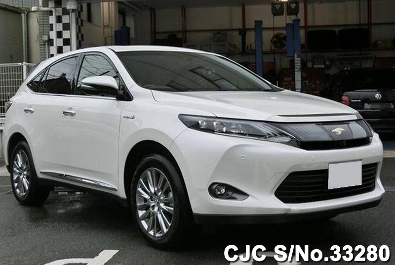 Japanese Toyota Harrier