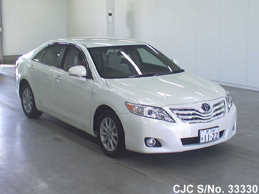 2009 toyota camry pearl for sale stock no 33330 japanese used cars exporter. Black Bedroom Furniture Sets. Home Design Ideas
