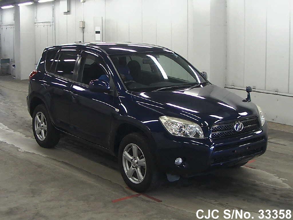 2006 toyota rav4 dark blue for sale stock no 33358 japanese used cars exporter. Black Bedroom Furniture Sets. Home Design Ideas