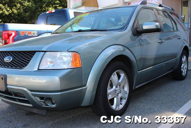 2007 left hand ford freestyle green metallic for sale stock no 33367 left hand used cars. Black Bedroom Furniture Sets. Home Design Ideas