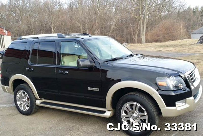 2007 Left Hand Ford Explorer Black For Sale Stock No 33381 Left Hand Used Cars Exporter