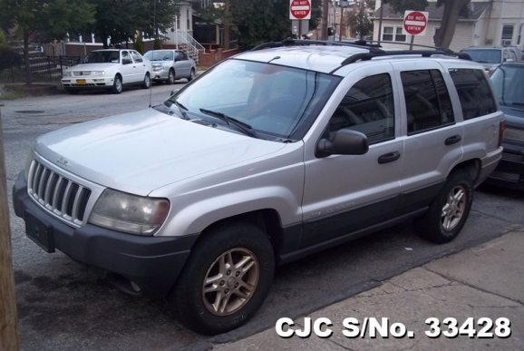 2004 left hand jeep grand cherokee silver for sale stock no 33428 left hand used cars exporter. Black Bedroom Furniture Sets. Home Design Ideas