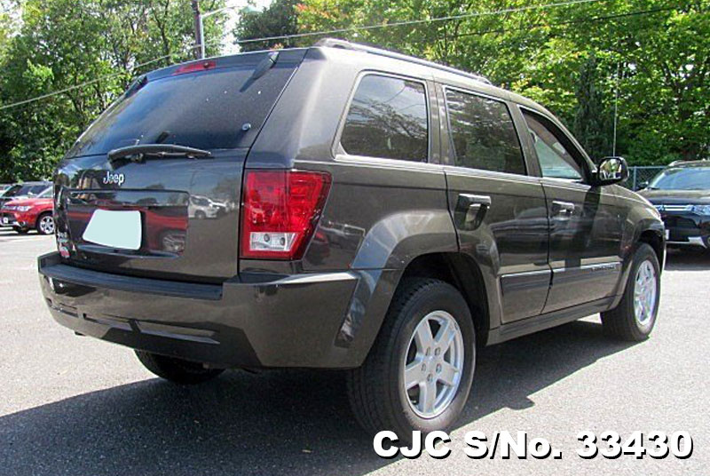 2006 left hand jeep grand cherokee gray for sale stock no 33430 left hand used cars exporter. Black Bedroom Furniture Sets. Home Design Ideas