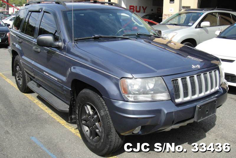 2004 left hand jeep grand cherokee gray for sale stock no 33436 left hand used cars exporter. Black Bedroom Furniture Sets. Home Design Ideas