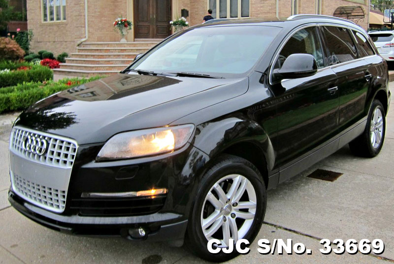2009 left hand audi q7 black for sale stock no 33669 left hand used cars exporter. Black Bedroom Furniture Sets. Home Design Ideas