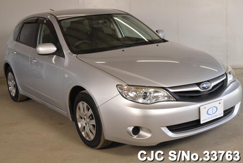 2010 subaru impreza white for sale stock no 33763 japanese used cars exporter. Black Bedroom Furniture Sets. Home Design Ideas