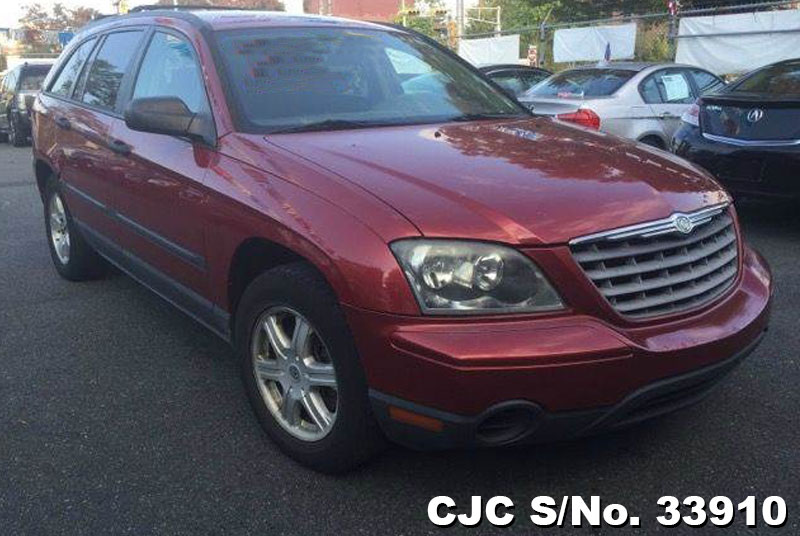 2005 left hand chrysler pacifica red for sale stock no 33910 left hand used cars exporter. Black Bedroom Furniture Sets. Home Design Ideas