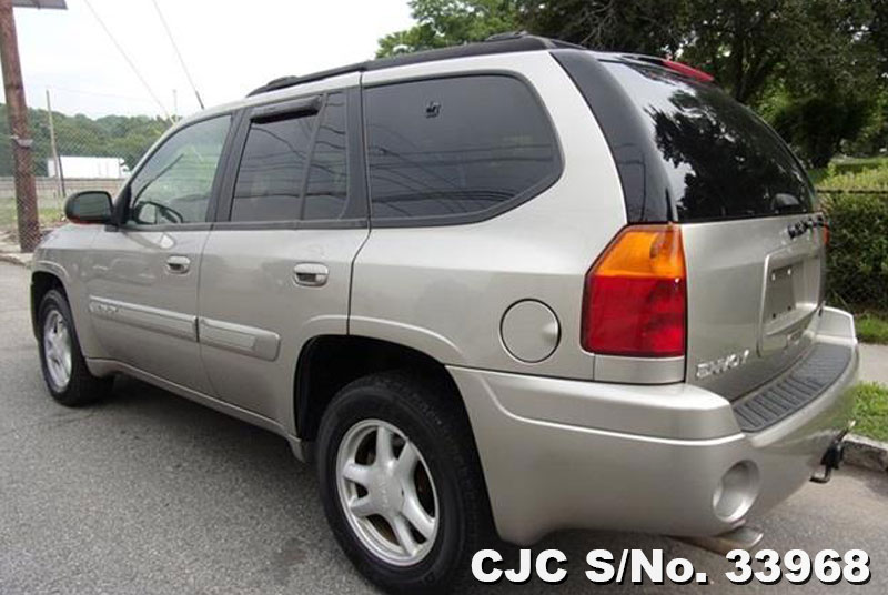 2002 left hand gmc envoy gray for sale stock no 33968 left hand used cars exporter. Black Bedroom Furniture Sets. Home Design Ideas