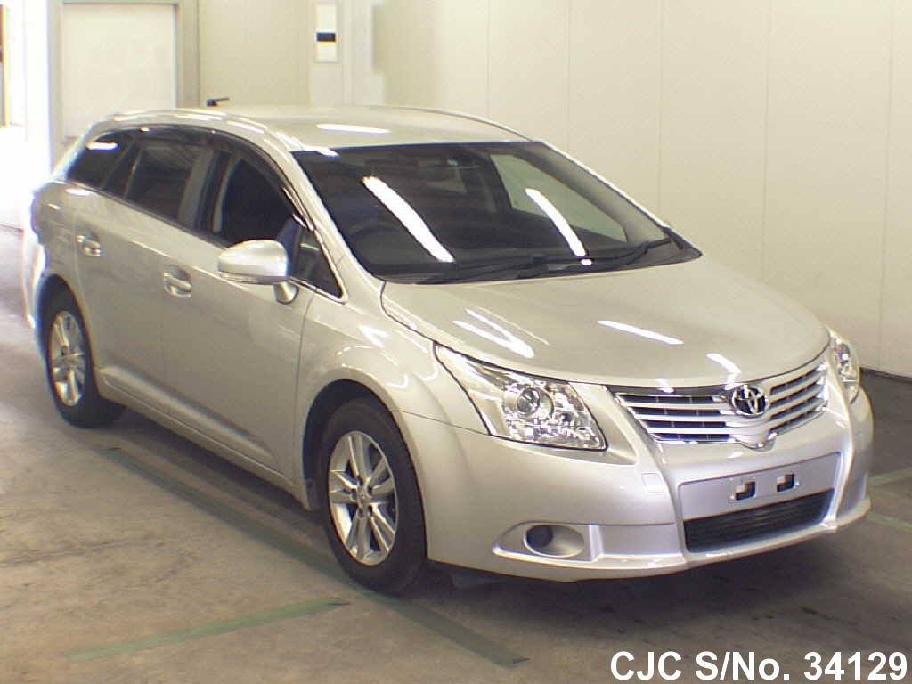 2012 toyota avensis silver for sale stock no 34129. Black Bedroom Furniture Sets. Home Design Ideas