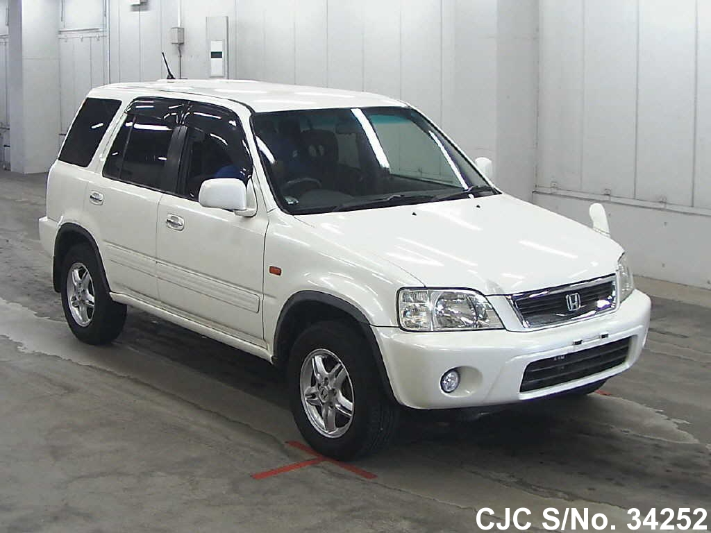 2000 honda crv white for sale stock no 34252 japanese used cars exporter. Black Bedroom Furniture Sets. Home Design Ideas