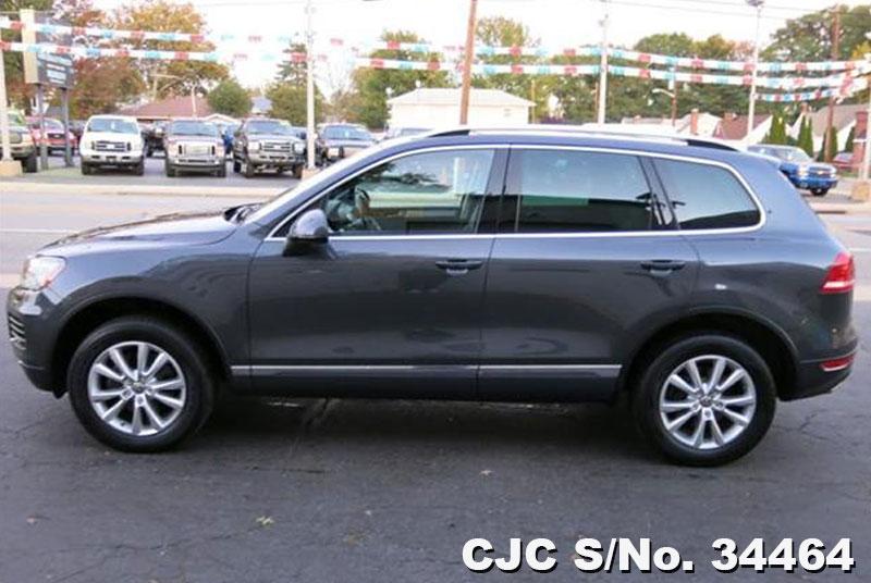 2011 Left Hand Volkswagen Touareg Grey Metallic For Sale