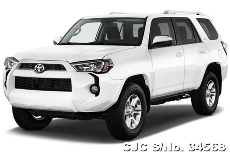 Brand New 2016 Left Hand Toyota Hilux Surf 4runner White