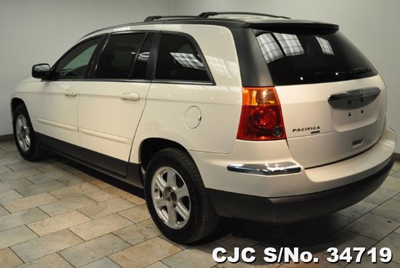 2006 left hand chrysler pacifica white for sale stock no 34719 left hand used cars exporter. Black Bedroom Furniture Sets. Home Design Ideas
