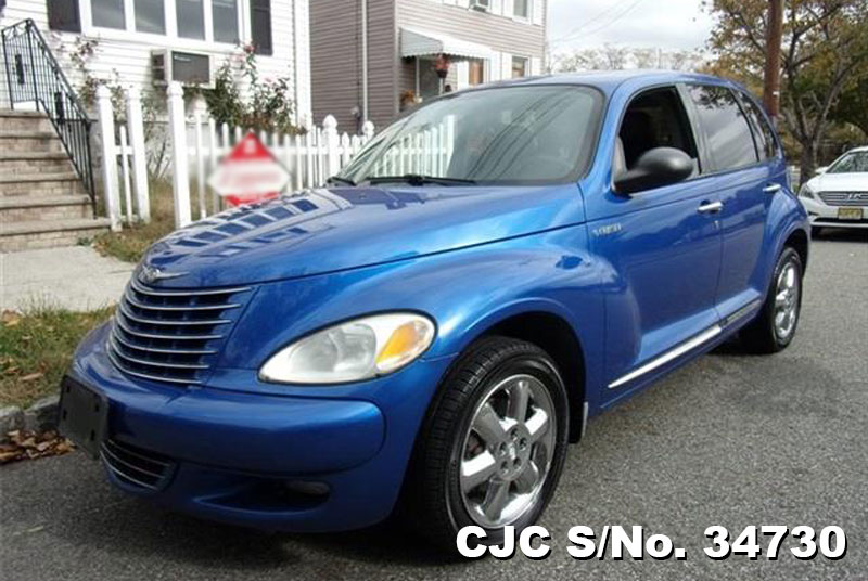2005 left hand chrysler pt cruiser blue for sale stock. Black Bedroom Furniture Sets. Home Design Ideas