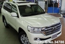 2016 Toyota / Land Cruiser Stock No. 34786