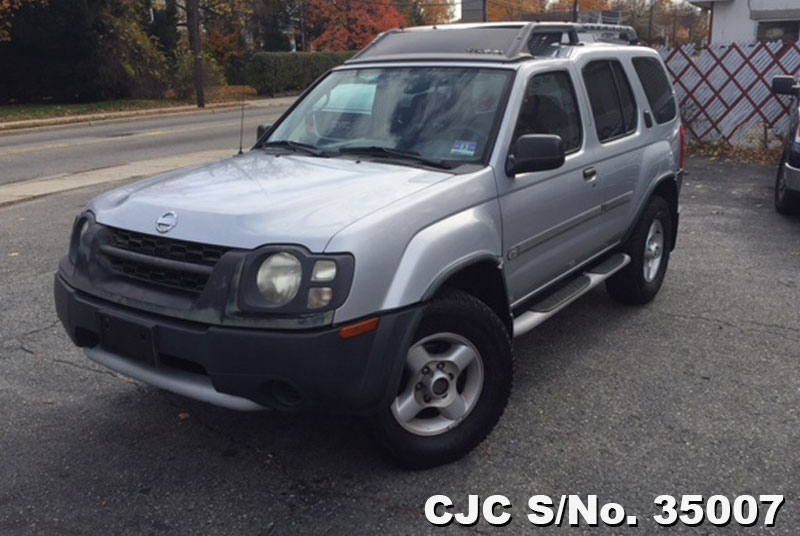 2002 left hand nissan xterra silver 2 tone for sale stock no 35007 left hand used cars exporter. Black Bedroom Furniture Sets. Home Design Ideas